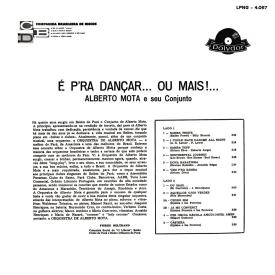 Alberto Mota - É Pra Dançar... Ou Mais (1963) b
