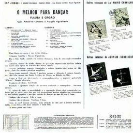 Altamiro Carrilho & Aloísio Figueiredo - O Melhor Para Dançar – Flauta e Órgão (1962) b