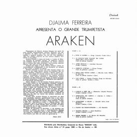 Araken Peixoto - Djalma Ferreira Apresenta o Grande Trumpetista Araken (1963) b