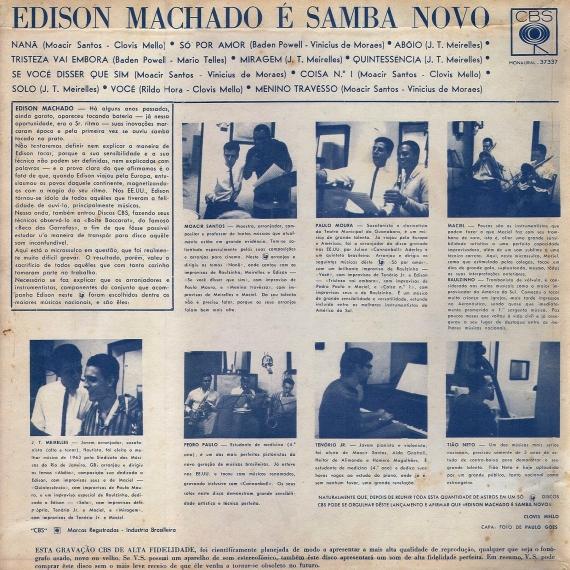 Édison Machado — Édison Machado é Samba Nôvo (b)
