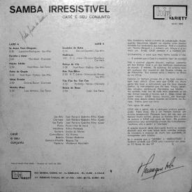 Casé from _ Samba Irresistível (1960) b