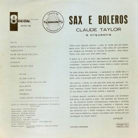 Claude Taylor - Sax e Boleros (1964) b