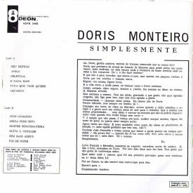 Dóris Monteiro - Simplesmente (1966) b