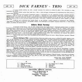 Dick Farney - Trio (1956) b