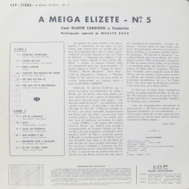 Elizeth Cardoso - A Meiga Elizete No. 5 (1964) b