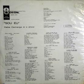 Hebe Camargo - Sou Eu (1960) b