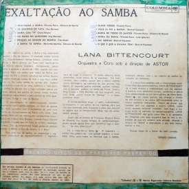 Lana Bittencourt - Exaltação ao Samba (1962) b
