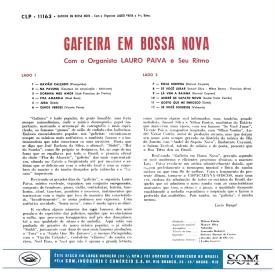 Lauro Paiva - Gafieira em Bossa Nova (1960) b