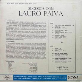 Lauro Paiva - Sucessos com Lauro Paiva (1961) b