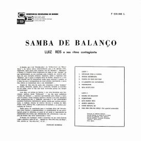 Luis Reis - Samba de Balanço (1962) b