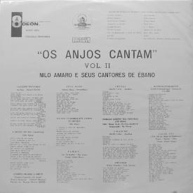 Nilo Amaro e Seus Cantores de Ébano - Os Anjos Cantam Vol. 2 (1962) b