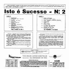 Os Copa 4 & Pachequinho - Isto é Sucesso (1964) b