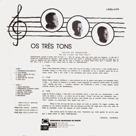 Os Três Tons - Os Três Tons (1963) b