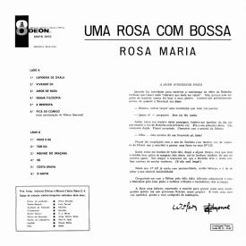 Rosa Maria Colin - Uma Rosa com Bossa (1966) b