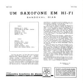 Sandoval Dias - Um Saxofone em Hi-Fi (1957) b
