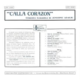 Severino Araújo - Calla Corazon (1961) b
