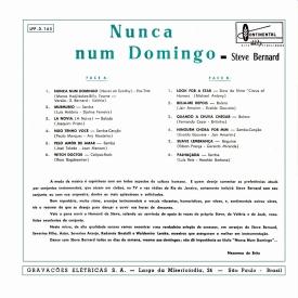 Steve Bernard - Nunca Num Domingo (1961) b