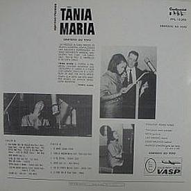 Tânia Maria - Apresentamos Tânia Maria (1966) b