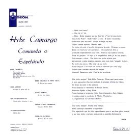 Various - Hebe Comanda o Espetáculo (1961) b