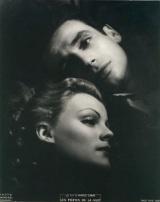 Yves Montand & Nathalie Nattier (publicity photo for Les Portes de la Nuit, 1946)