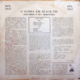 Zaccarias - O Samba em Black-Tie (1956) b