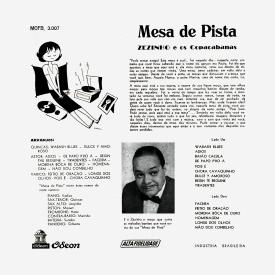 Zézinho & Os Copacabanas (José Delphino Filho) - Mesa de Pista (1957) b
