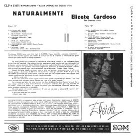 Elizete Cardoso - Naturalmente (1959) b