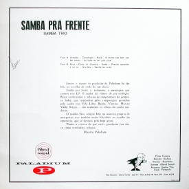 Samba Trio - Samba Pra Frente (1966) b
