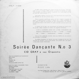 Renato de Oliveira aka Cid Gray - Soirée Dançante No. 3 (1959) b