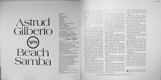 Astrud Gilberto - Beach Samba (1967) b