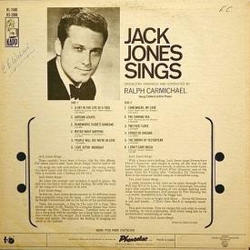 Jack Jones - Jack Jones Sings (1966) b