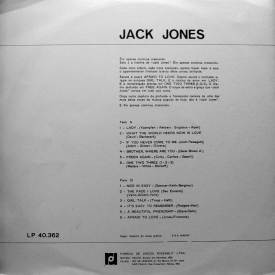 Jack Jones - Lady (1967 BRA) b
