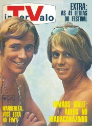 Marcos & Paulo Sérgio Valle on the cover of Intervalo, 1968