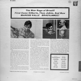Marcos Valle - Braziliance! Marcos Valle and His Music (1967) b