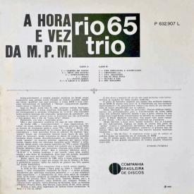 Rio 65 Trio - A Hora e a Vez da MPM (1966) b