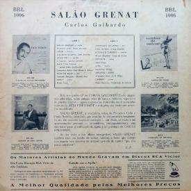 Carlos Galhardo - Salão Grenat (1958) b