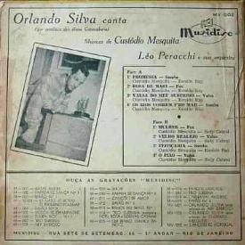 Orlando Silva - Silva Canta Músicas de Custódio Mesquita (1953) b