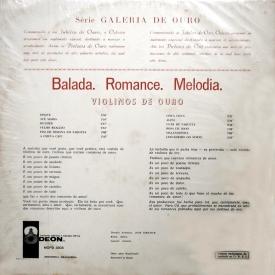 Orquestra Violinos de Ouro - Balada Romance Melodia (1962) b
