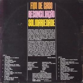 Eduardo Conde & Yvette - Série Temas 1 – Fim de Caso - Reconciliação - Solidariedade (1975) b