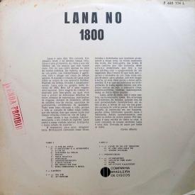Lana Bittencourt - Lana no 1800 (1965) b