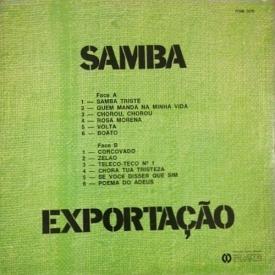 N-A - Samba Exportação (c1970) b