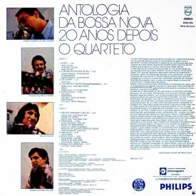 O Quarteto - Antologia da Bossa Nova 20 Anos Depois (1977) b