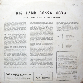 Oscar Castro Neves - Big Band Bossa Nova (1962) b