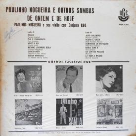 Paulinho Nogueira - Outros Sambas de Ontem e de Hoje (1962) b