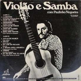 Paulinho Nogueira - Violão e Samba com Paulinho Nogueira (1973) b