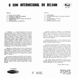 Conjunto Belsom - O Som Internacional do Belsom (c1968) b