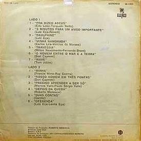 Luiz Eça - Luiz Eça, Piano e Cordas – Vol. 2 (1970) b