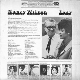 Nancy Wilson - Easy (1968) b