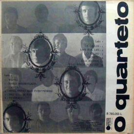 O Quarteto - O Quarteto (1968) b