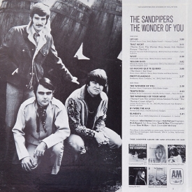 The Sandpipers - The Wonder of You (1969) b